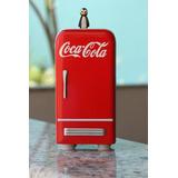 Miniatura Geladeira Coca Cola Vermelha-presentes