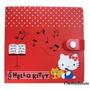 Capa Porta Cd Dvd Hello Kitty P/ 12 Case - Sanrio Japão