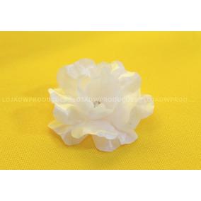 Mini Flores Em Tecido Kit 25 Unidades
