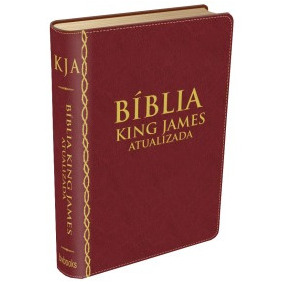 Bíblia De Estudo King James Atualizada Cor Vinho