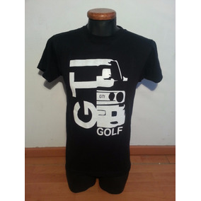 Playera Auto Golf, Talla Chica Color Negro