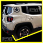 Calco Jeep Renegade Estrella Oscar Mike Calcomania Ploteoya