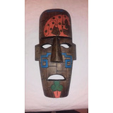 Mascara De Madera Maya