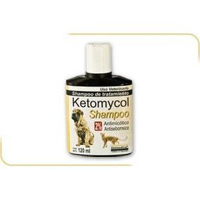 Shampoo Antimicótico Para Caninos Y Felinos Ketomycol 120 Ml