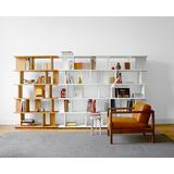 Biblioteca - Moderna - Combinable - Modular - Green Muebles