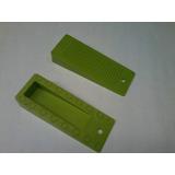 Cunha Para Porta Verde P/ Piso Porcelanato - 6 Pçs R$ 17,00