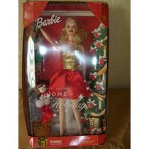 2 Bonecas Doll Barbie Home Holidays Target E Winter Fantasy