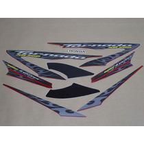 Kit Adesivos Honda Xr 250 Tornado 2008 Vermelha - Decalx