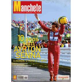 Revista - Manchete Especial 10 Anos S/ Senna - Nº2530 /mar04