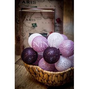 Cordão De Luz Grapes - Luminária Led Decorativa De Bolinhas