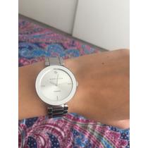 Vendo Reloj Anne Klein Plateado Diamond Original