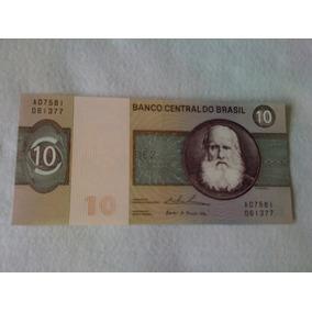 Cedula Nota De Dez Cruzeiros Serie A07581