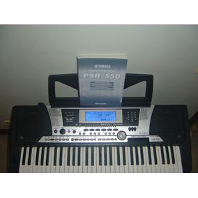 Teclado Yamaha Psr 550 C/ Manual+fonte+suporte