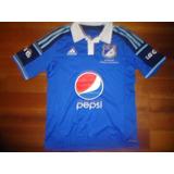 Camiseta Millonarios (colombia) adidas 2014 Oficial Titular