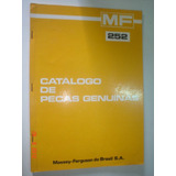Catalogo Peças Trator Massey Ferguson Perkins 252 Manual Mf