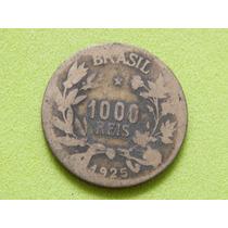 Moeda De 1000 Réis De 1925 - Brasil - (ref 1306)