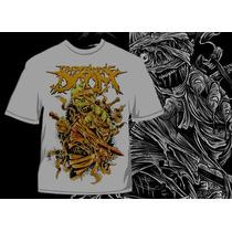 Camisa Impending Doom Mummy - Metal Death Core 777 Gospel