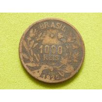 Moeda De 1000 Réis De 1925 - Brasil - (ref 1311)