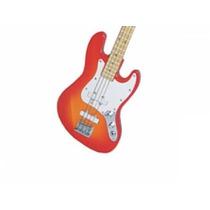 Miniatura De Baixo Eletrico Jass Bass No Blister