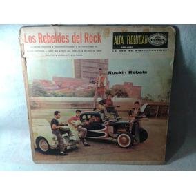 Lp Los Rebeldes Del Rock Johny Laboriel