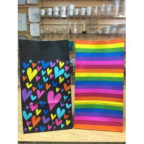 50 Bolsas De Papel Para Candy/souvenir