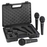 Set De 3 Microfonos Behringer Modelo Xm1800s (juego)