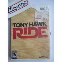 Tony Hawks Ride Para Nintendo Wii Juego Skate Aprovecha Th