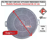 Filtro De Carvao Universal Para Coifa (kit Com 2)