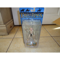 Super Poseable Smeagol Lord Of The Rings Toybiz Lotr +++