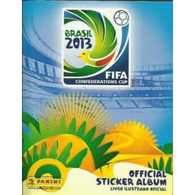 Álbum Copa Das Confederações 2013 - Completo + 9 Fig. Extras