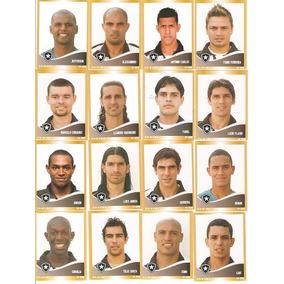 16 Figurinhas - Campeonato Brasileiro 2010 -botafogo