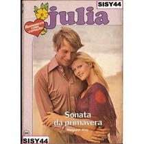 Julia Sonata Da Primavera Margaret Way Florzinha Edição 202