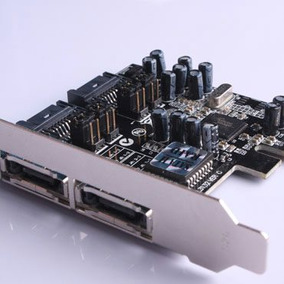 Placa Pci Express 2 X Esata 2 X Sata 2 3gb/s Sil3132.