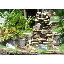 Som Ambiente Para Jardim Caixa De Som Pedra 40w Rms