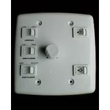 Controle Para Ventilador De Teto 4x4 Com 3 Interruptores