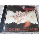 Cd Banda Ouriço - É De Felicidade 1994 Axé