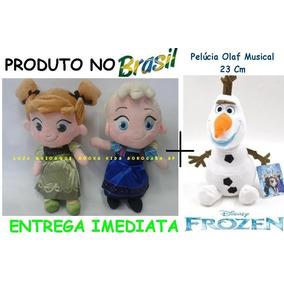 Kit 3 Pelúcias Anna, Elsa Baby E Olaf - Já No Brasil
