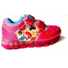 Zapatillas Soy Luna Con Luces Mundo Moda Kids Soyl
