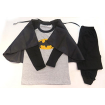 Pijama Disfraz Invierno Superheores Superman Batman Spiderma