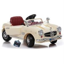 Mini Carro Eletrico Infantil Estilo Rolls Royce Bege C Remot