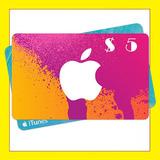 Itunes Gift Card 5 Dolares Usd Iphone Mac Ipad Appstore