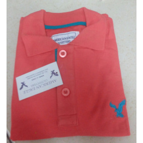 Camisa Playera Tipo Polo American Eagle Hombre Ropa Casual