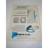 L - 290/ Pps30 Propaganda Antiga Plásticos Goyana Plagon