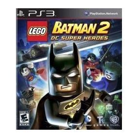 Jogo Lego Batman 2 Dc Super Heores Para Playstatio 3 Ps3