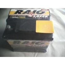 Bateria Automotiva 45 E 60 Amperes Marca Raio Laser