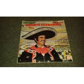 Disco Acetato De Un Mexicano En La Mexico Vicente Fernandez