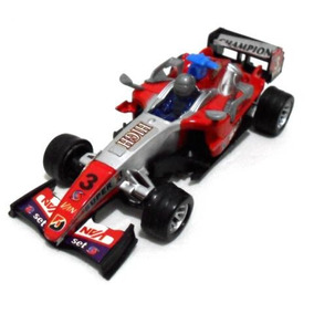 Formula 1 - 4 Replicas Carrinhos - Movidos A Fricção