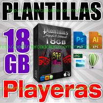 18gb Plantillas Serigrafia Estampado De Playeras Psd Cdr Eps