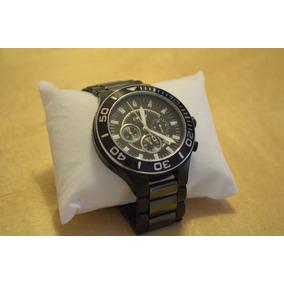 Reloj Dkny Para Caballero Ceramica Negra