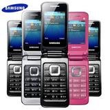 Celular Samsung Gt C3520 Com Flip   Quad Band   Desbloqueado